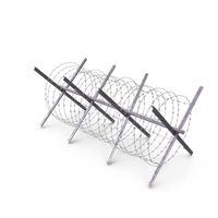 Razor Wire Coil Block PNG & PSD Images