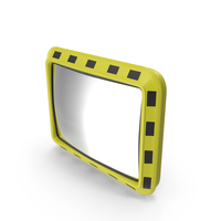 Rectangular Industrial Safety Mirror PNG & PSD Images