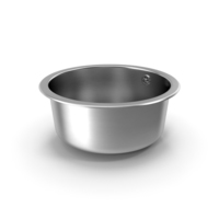 Round Inset Stainless Steel Sink PNG & PSD Images