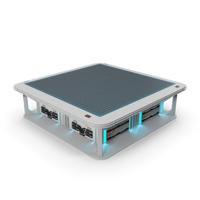Sci-Fi Hologram Table PNG & PSD Images