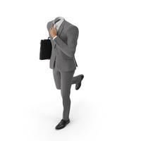 Hurry Bag Suit Grey PNG & PSD Images