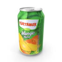 Beverage Can Turtamek Mango Nectar 330ml PNG & PSD Images