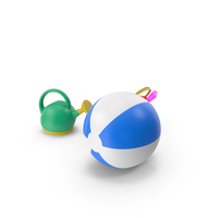Beach Toys PNG & PSD Images