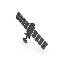 Symbol Satellite Black PNG & PSD Images