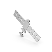 Symbol Satellite Silver PNG & PSD Images