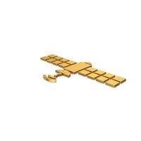 Gold Symbol Satellite PNG & PSD Images