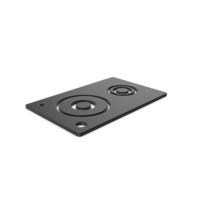 Black Symbol Speaker PNG & PSD Images