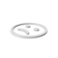 Emoji Frowning Face Symbol PNG & PSD Images