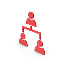 Symbol People Connection Red PNG & PSD Images