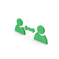 Symbol People Connect Green PNG & PSD Images