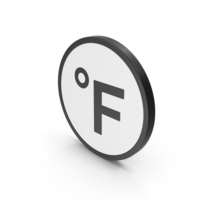 Icon Fahrenheit Degrees PNG & PSD Images