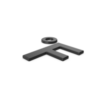 Black Symbol Fahrenheit Degrees PNG & PSD Images