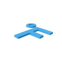Blue Symbol Fahrenheit Degrees PNG & PSD Images