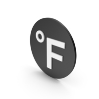 Fahrenheit Degrees Icon PNG & PSD Images