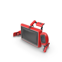 Robot TV Set PNG & PSD Images