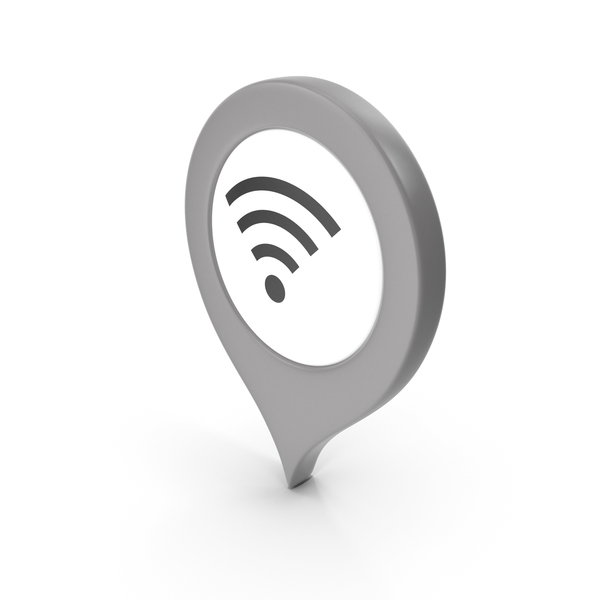 Location Sign Wifi Grey PNG & PSD Images