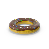 Donut Inflatable Rubber Ring PNG & PSD Images