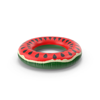 Watermelon Inflatable Rubber Ring PNG & PSD Images