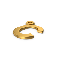 Gold Symbol Celsius Degrees PNG & PSD Images