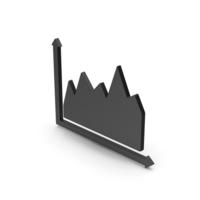 Symbol Graph Black PNG & PSD Images