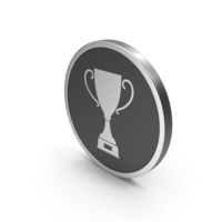 Silver Icon Trophy Cup PNG & PSD Images
