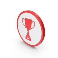Icon Trophy  Cup Red PNG & PSD Images