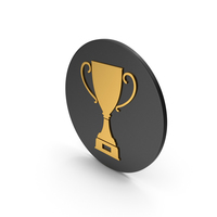 Trophy Cup Gold Icon PNG & PSD Images