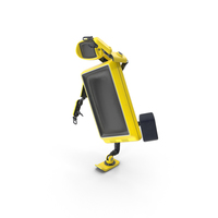 Robot TV Set No Face PNG & PSD Images