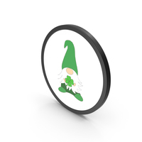 Gnome Green PNG & PSD Images