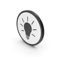 Icon Light Bulb PNG & PSD Images