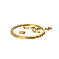 Gold Symbol Emoji Sleeping PNG & PSD Images