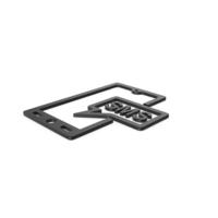 Black Symbol SMS Message PNG & PSD Images