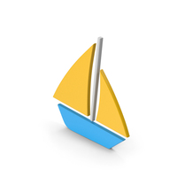 Symbol Boat Colored PNG & PSD Images