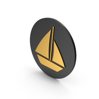 Boat Gold Icon PNG & PSD Images