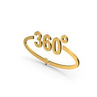Symbol Degree Gold PNG & PSD Images