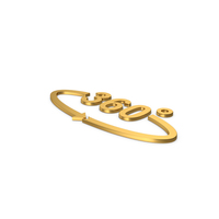Gold Symbol Degree PNG & PSD Images