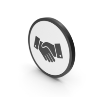 Icon Handshake PNG & PSD Images