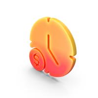 Logo Clock Time Dollar PNG & PSD Images