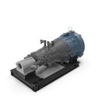 Siemens SST-800 Steam Turbine PNG & PSD Images