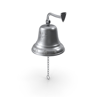 Silver Altar Bell Angel PNG & PSD Images