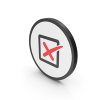Icon X Mark Box Red PNG & PSD Images