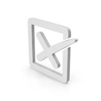 Symbol X Mark Box PNG & PSD Images