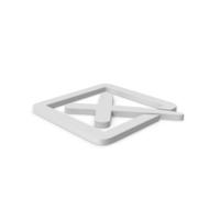 X Mark Box Symbol PNG & PSD Images