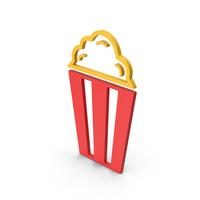 Symbol Popcorn Colored PNG & PSD Images