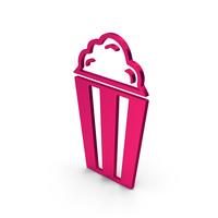 Symbol Popcorn Metallic PNG & PSD Images