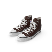 Basketball Shoes Brown PNG & PSD Images
