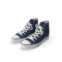 Basketball Shoes Dark Blue PNG & PSD Images