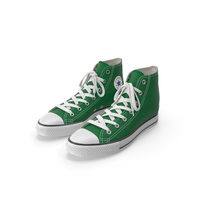 Basketball Shoes Green PNG & PSD Images