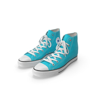Basketball Shoes Light Blue PNG & PSD Images