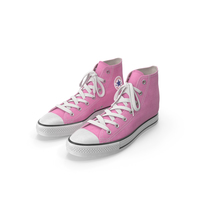 Basketball Shoes Pink PNG & PSD Images
